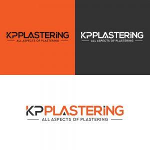 KP Plastering Logo Mockup 1