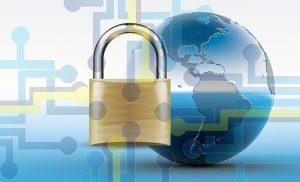 SSL Certificate Representation World and Padlock